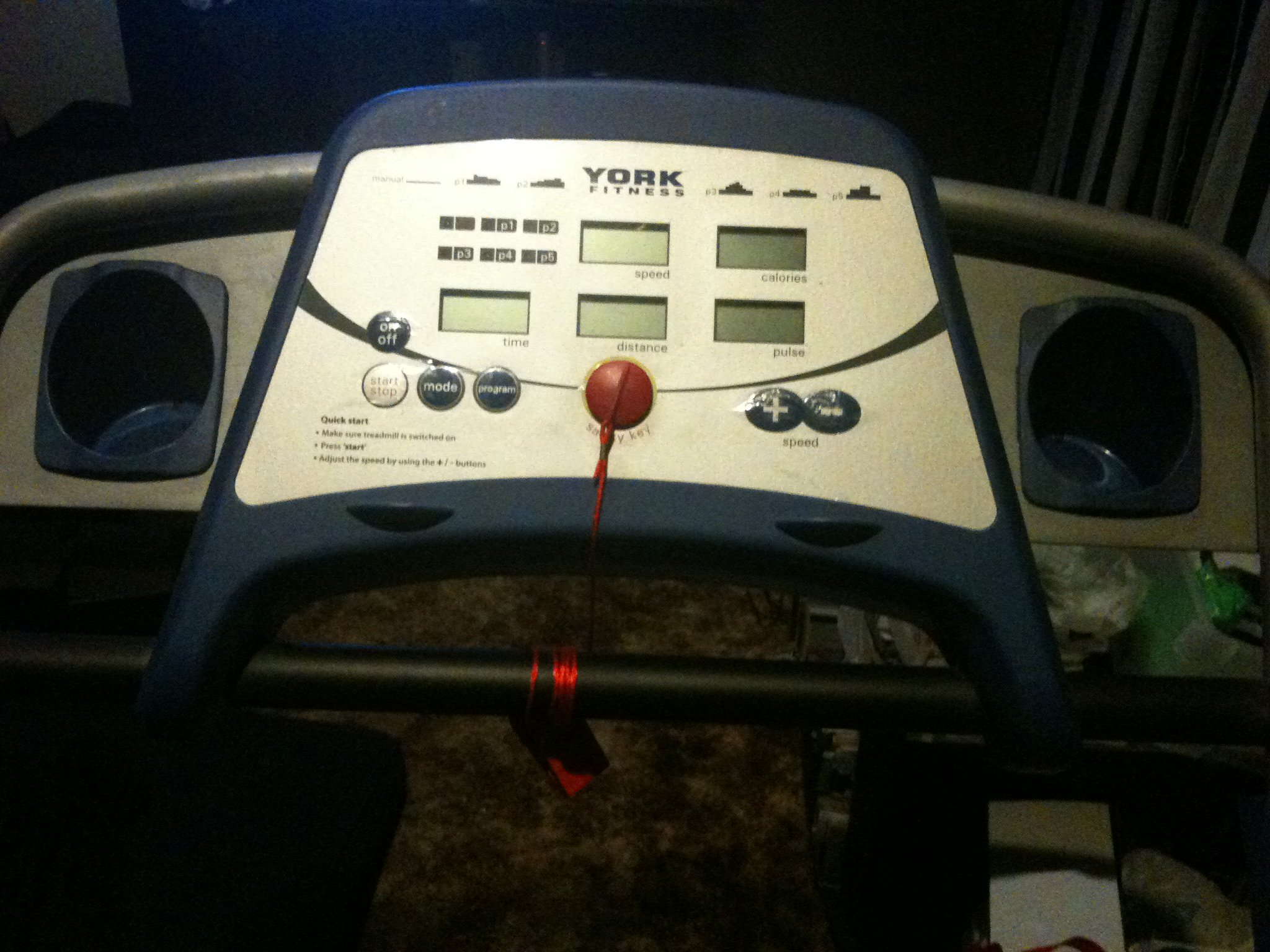 FOR SALE: York fitness inspiration treadmill
