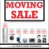 FOR SALE: MOVING SALE-Fridge,Washer,Microwave,Blender,SteamIron,Coffee Maker