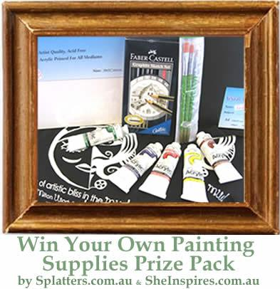 FOR SALE: Love Painting? WIN with SheInspires Online Sweepstake!