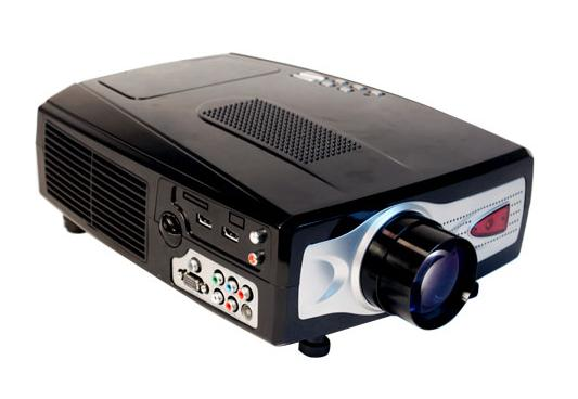 FOR SALE: HD Ready Home cinema LCD Projector with TV Tuner & Speaker