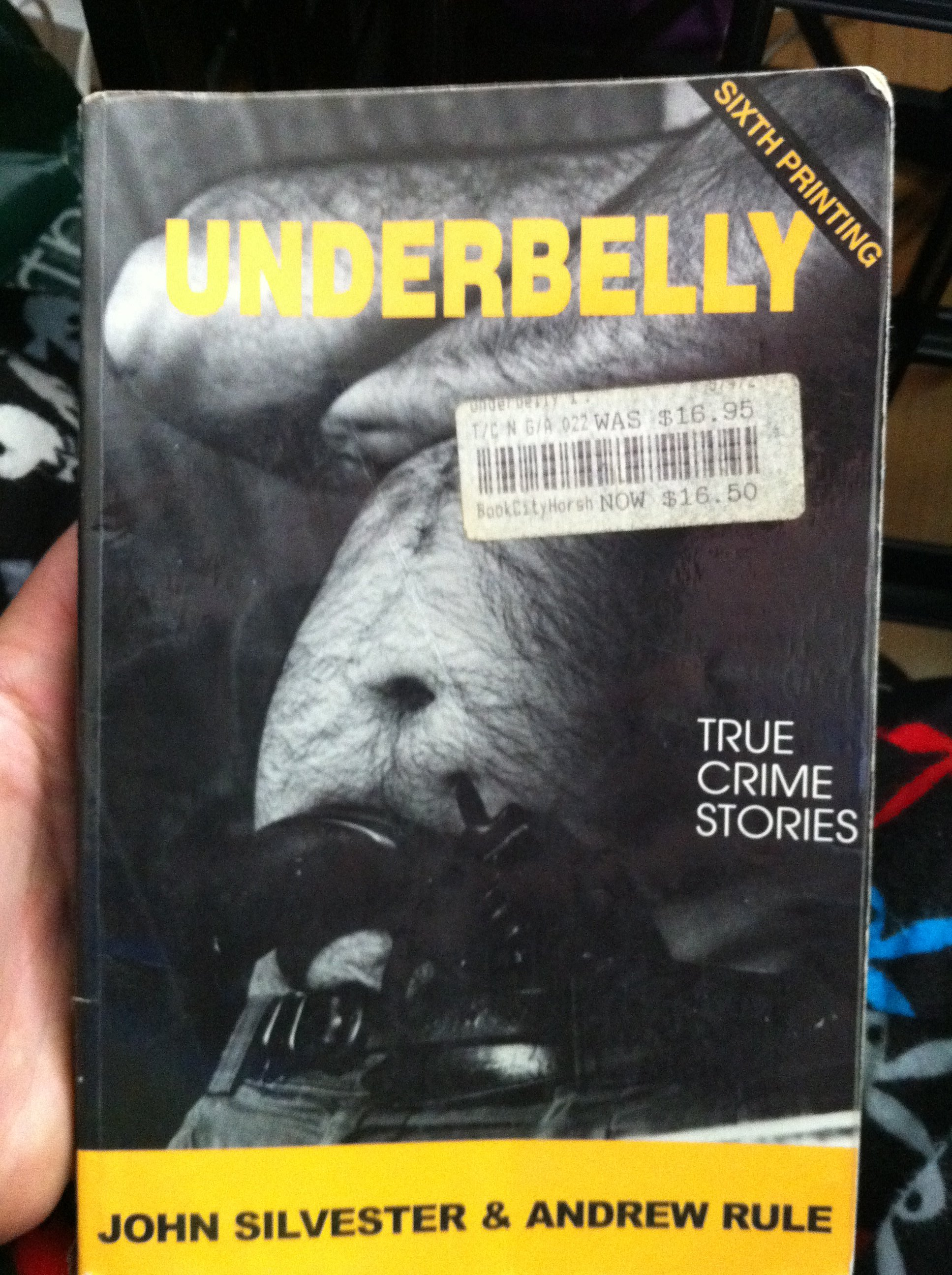 FOR SALE: Underbelly 1: True Crime Stories