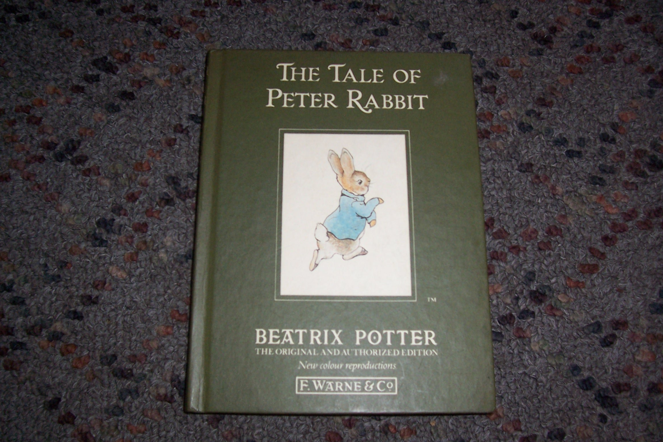 FOR SALE: The Tale of Peter Rabbit small hardback version