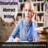 SERVICES: Get Dissertation Abstract Writing Help Online @30% Off