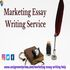 FOR SALE: Get The Best Discount on Online Marketing Essay Writing Service - Upto 30% OFF