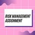 OFFERED: Risk Management Assignment Writing Help