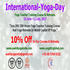 SERVICES: World Yoga Day (200- Hours Yoga Teacher Training Course)