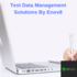 SERVICES: Test Data Management Solutions By Enov8