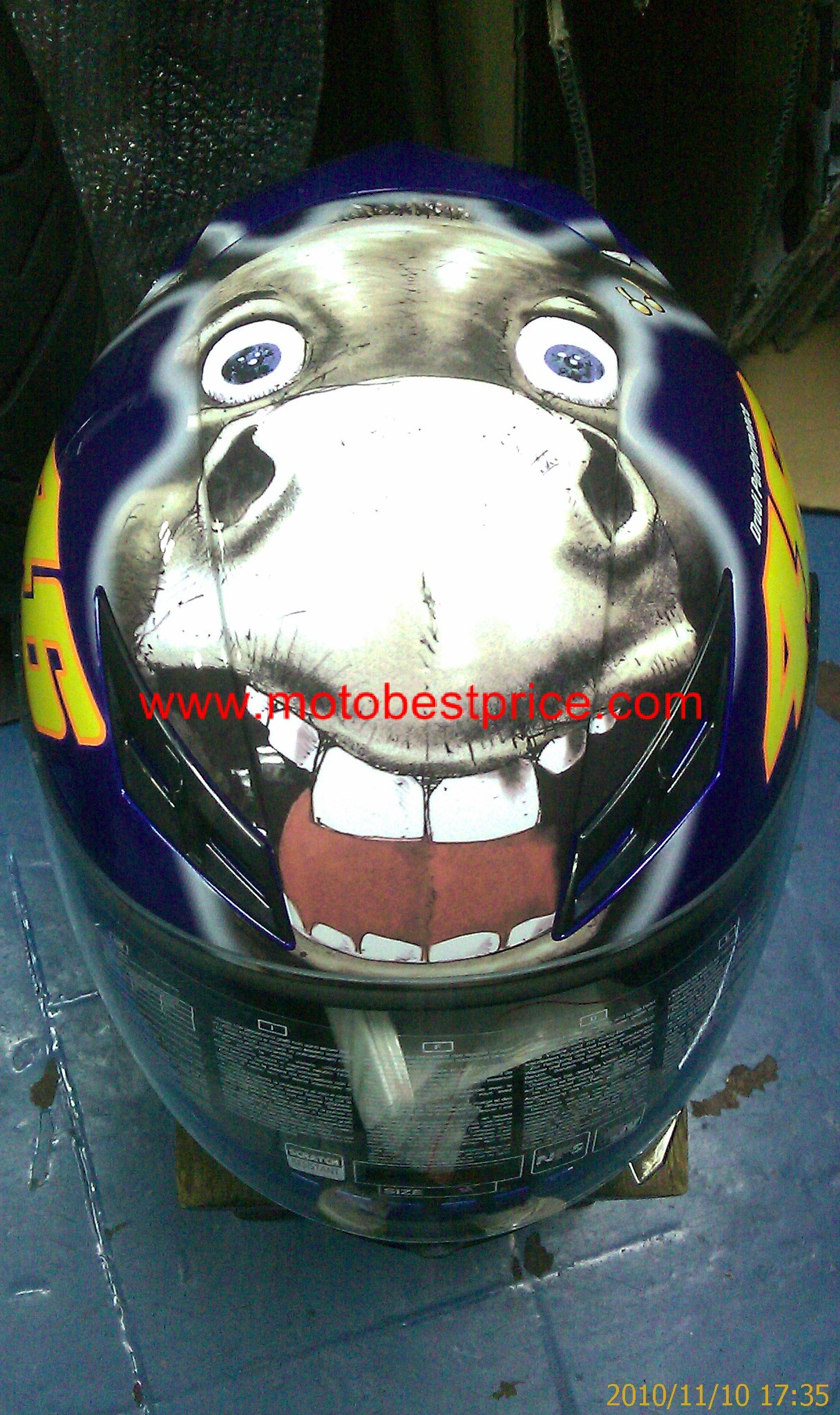 FOR SALE: AGV VALENTINO ROSSI DONKEY HELMET