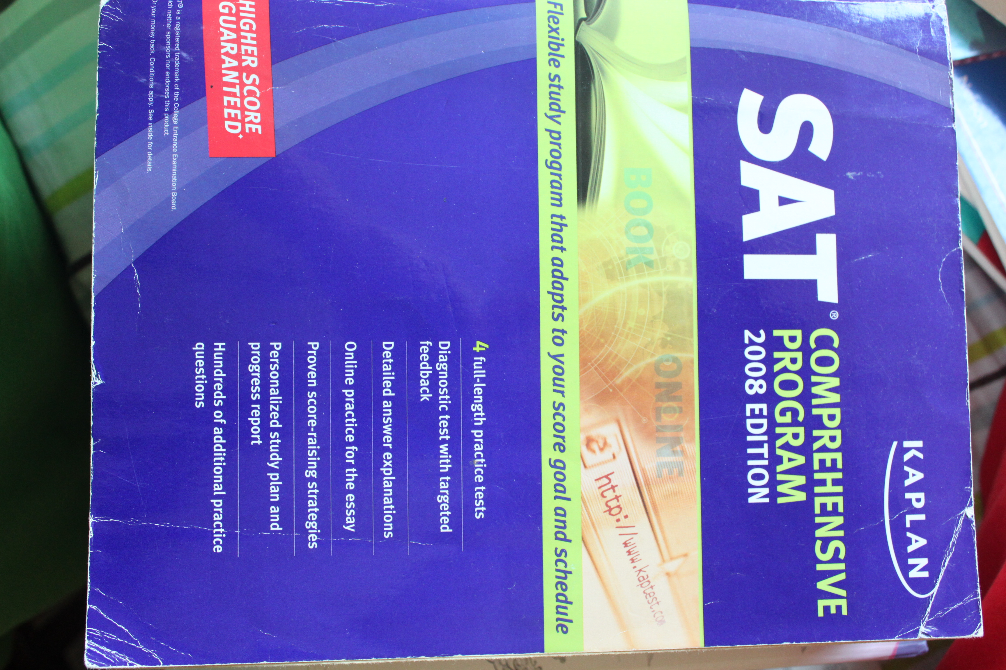 FOR SALE: SAT Prep Book