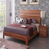 FOR SALE: Wood finish king size bed  - unused