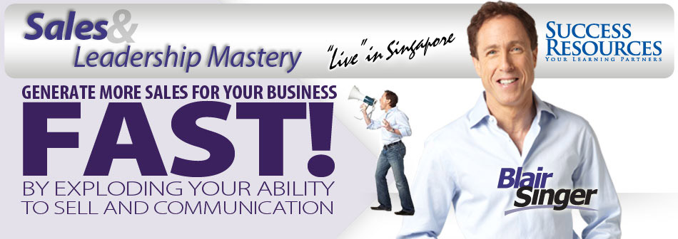 OFFERED: Sales & Leadership Mastery 2-Day Program ticket for sale! Early bird discount!