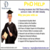 OFFERED: PhD Thesis Writing Services in Pune