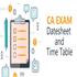 OFFERED: Download CA Exam Time Table 2020!