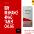 OFFERED: Buy Resihance 40 mg Tablet Online