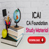 OFFERED: Download CA Foundation Study Material 2020