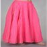 FOR SALE: Buy Pink Chanderi Gold Print Skirt Online ~p~ Long Skirts Online ~p~ Bandhej.com
