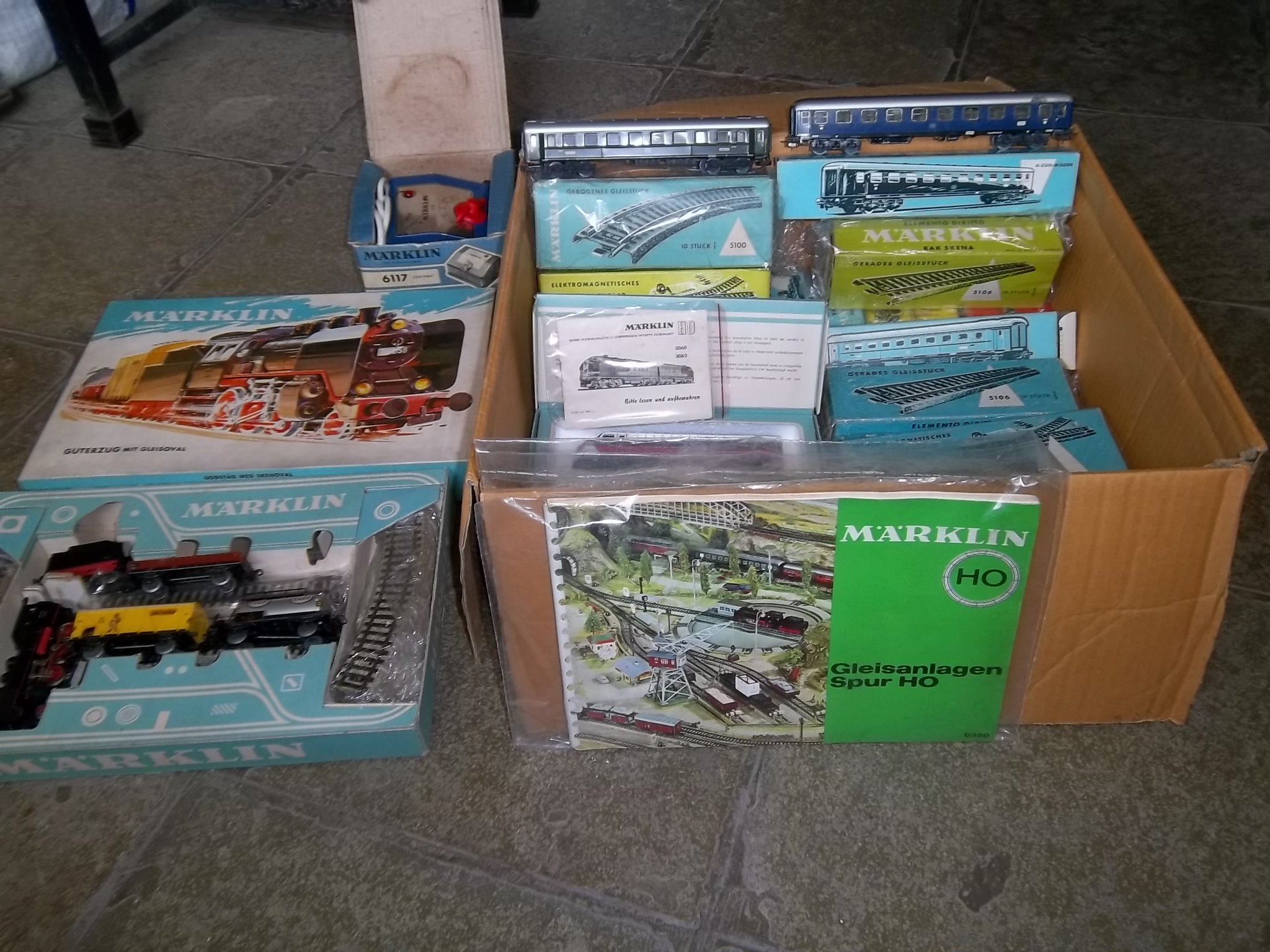 FOR SALE: Rare Marklin two trains sets made in Germany