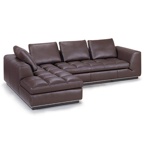 FOR SALE: Brown Corner Seater Sofa