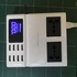 FOR SALE: Hi Tech 8 smart USB powered charger + 2 multi pin socket with digital meter