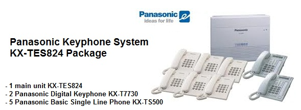 OFFERED: Panasonic KX-TES824ML package