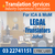 OFFERED: Court Approved Legal Translators in Malaysia