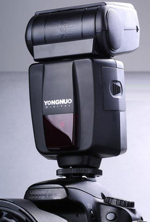FOR SALE: YongNuo YN460II Speedlight with GN53 for Sony with diffuser