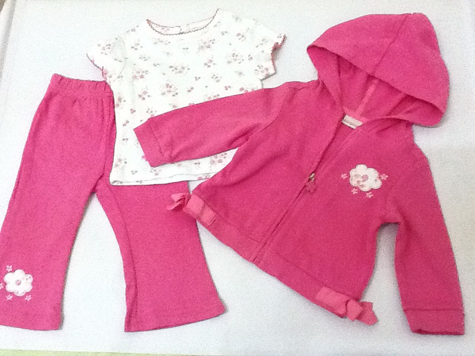 FOR SALE: 12 months girl clothes (3 piece)