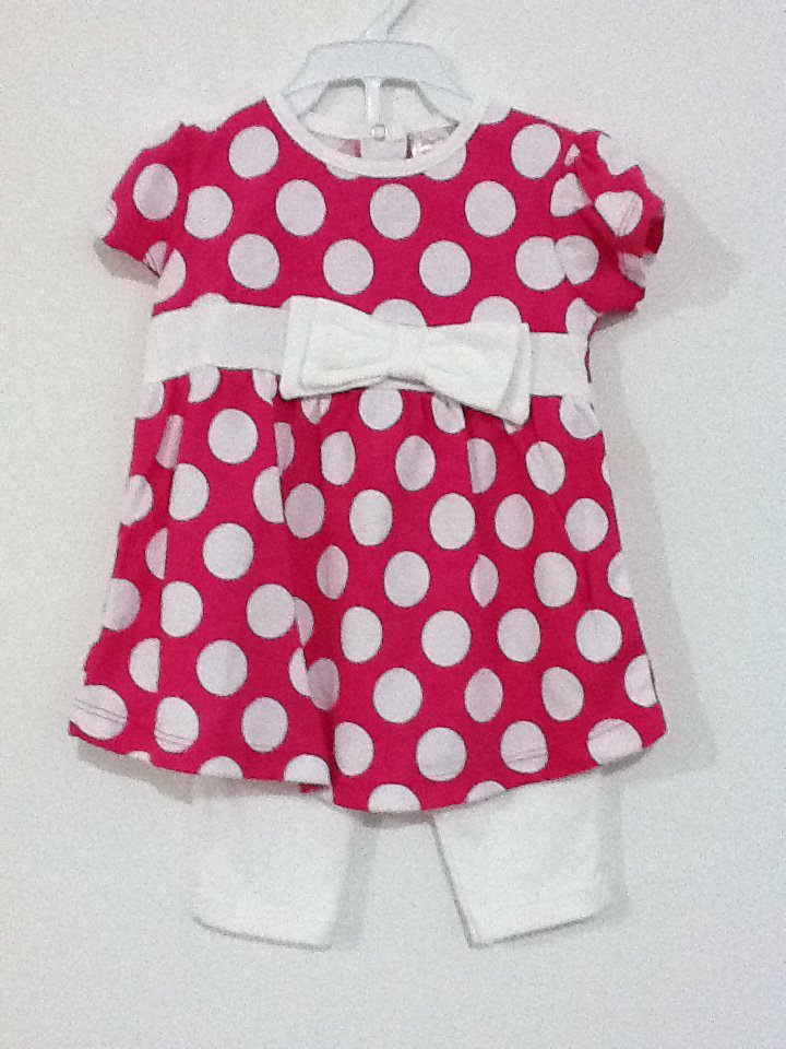 FOR SALE: 6 months girl polka dot clothes