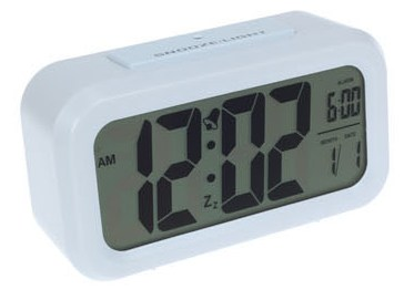 FOR SALE: Large Screen LCD LED Alarm Clock 2734