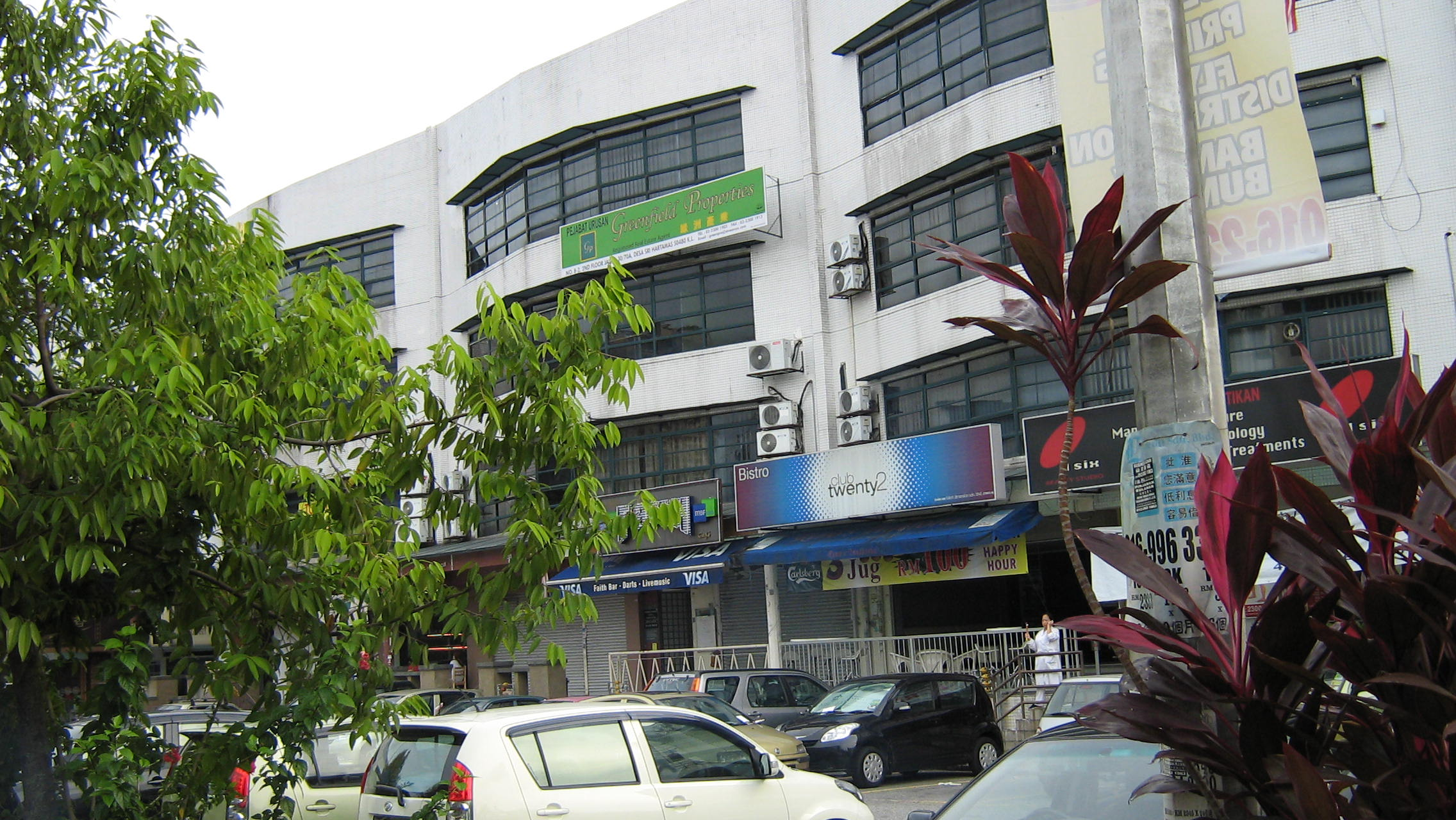FOR RENT / LEASE: Desa Sri Hartamas, Ground flr shop office 22x90 sf, busy area, excellent locatio