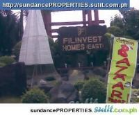 FOR SALE: 202sqm. LOT FOR SALE FILINVEST HOMES EAST, EASTVILLE SUBD. CAINTA RIZAL