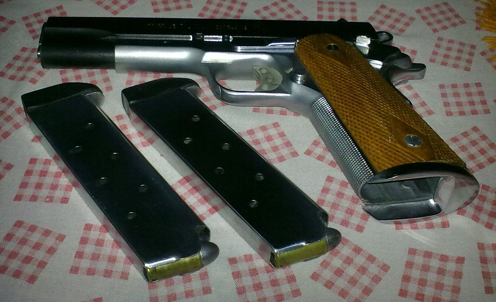 FOR SALE: Colt.45 M1911-A1  ( SOLD )