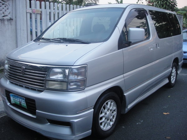 FOR SALE: NISSAN ELGRAND HIWAY STAR