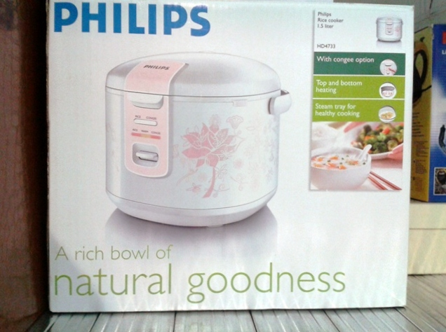 FOR SALE: Philips Rice & Congee Cooker 1.5 litre