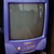 FOR SALE: SHARP 15 Inch CRT TV (Purple)