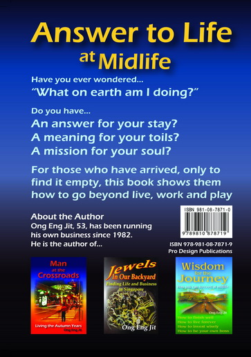 FOR SALE: New self-help Books for readers at midlife Nov 2013