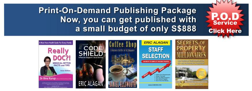 OFFERED: Low-Cost Self-Publishing and Print-On-Demand Service
