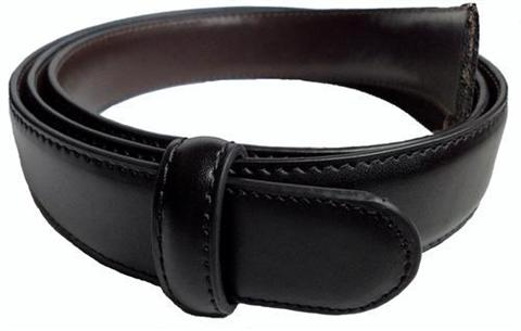 FOR SALE: Men's Reversible Leather Belt Replacement Strap without Buckle