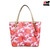 FOR SALE: Coach Peyton Floral Print Zip Top Tote Bag Coach F31342 Red / White