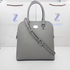 FOR SALE: MICHAEL KORS 35S6SCPS3L SAFFIANO LEATHER CINDY LARG DOME SATCHEL BAG PEARL GREY