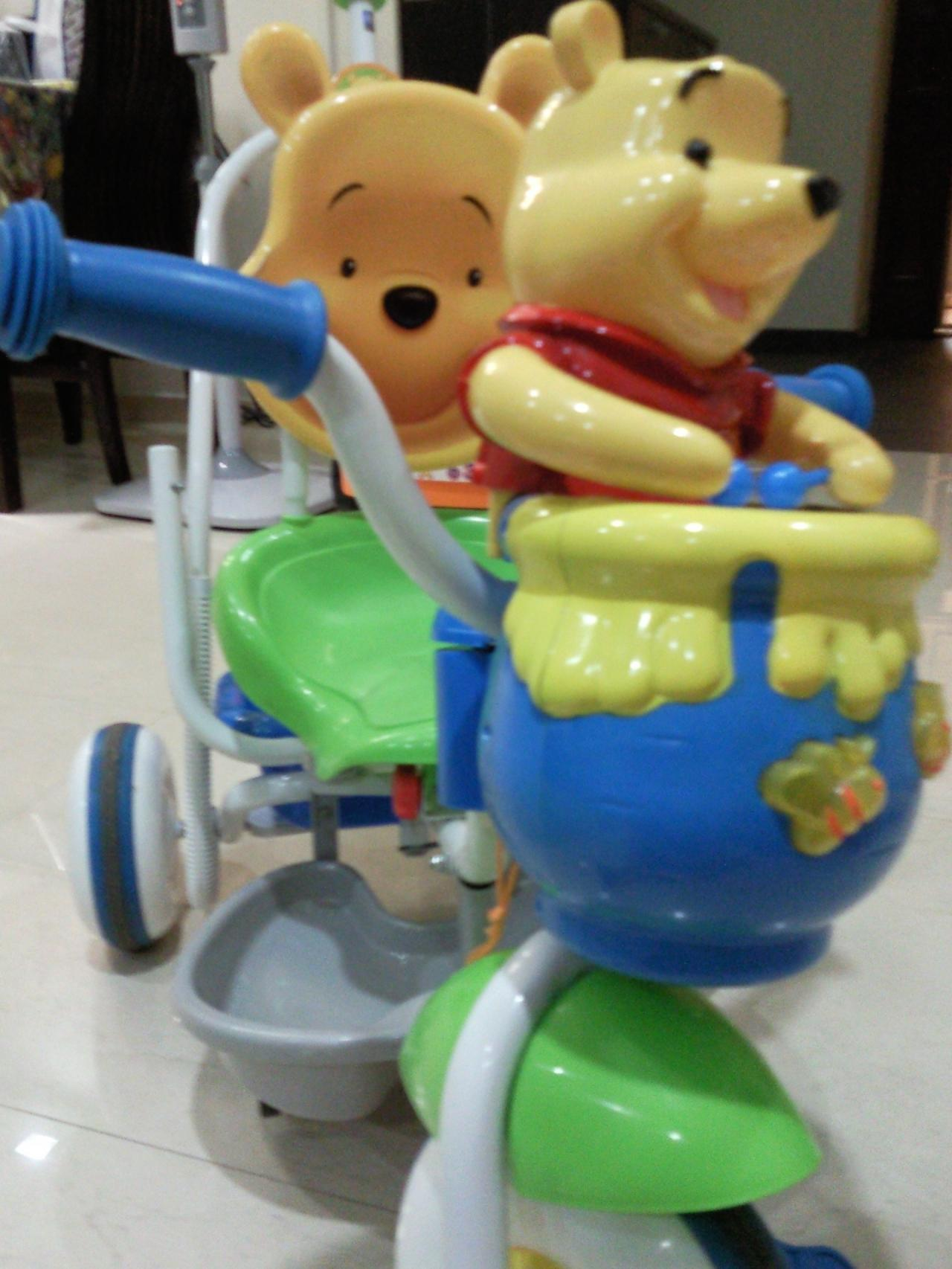 FOR SALE: Winnie The Pooh Tricycle For Sale..