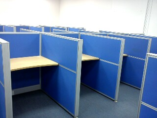 FOR SALE: Must Clear ! Movable Office Partition Panel with Fabric