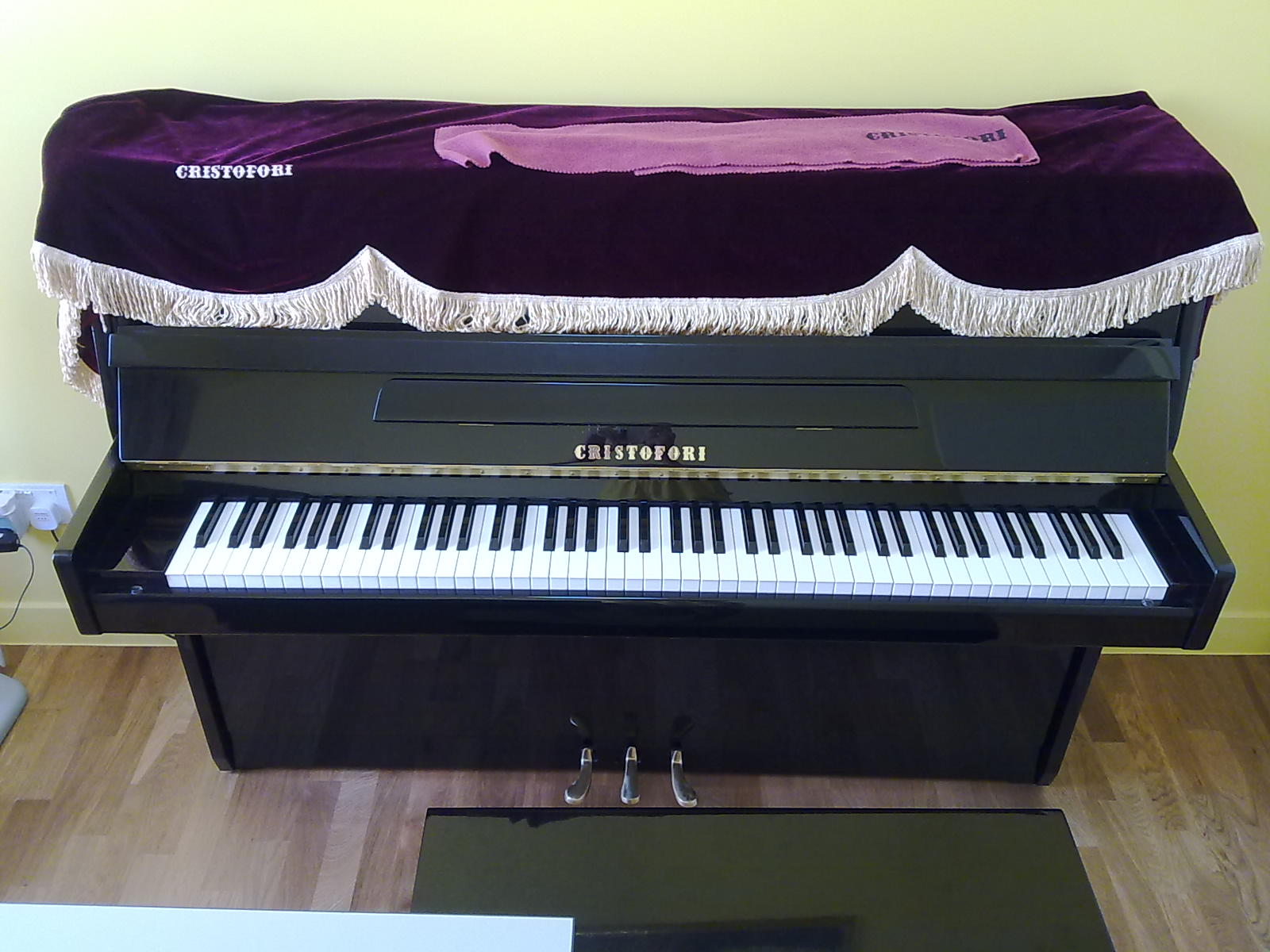 FOR SALE: -  -  - Cristofori Upright Piano B-108 EP