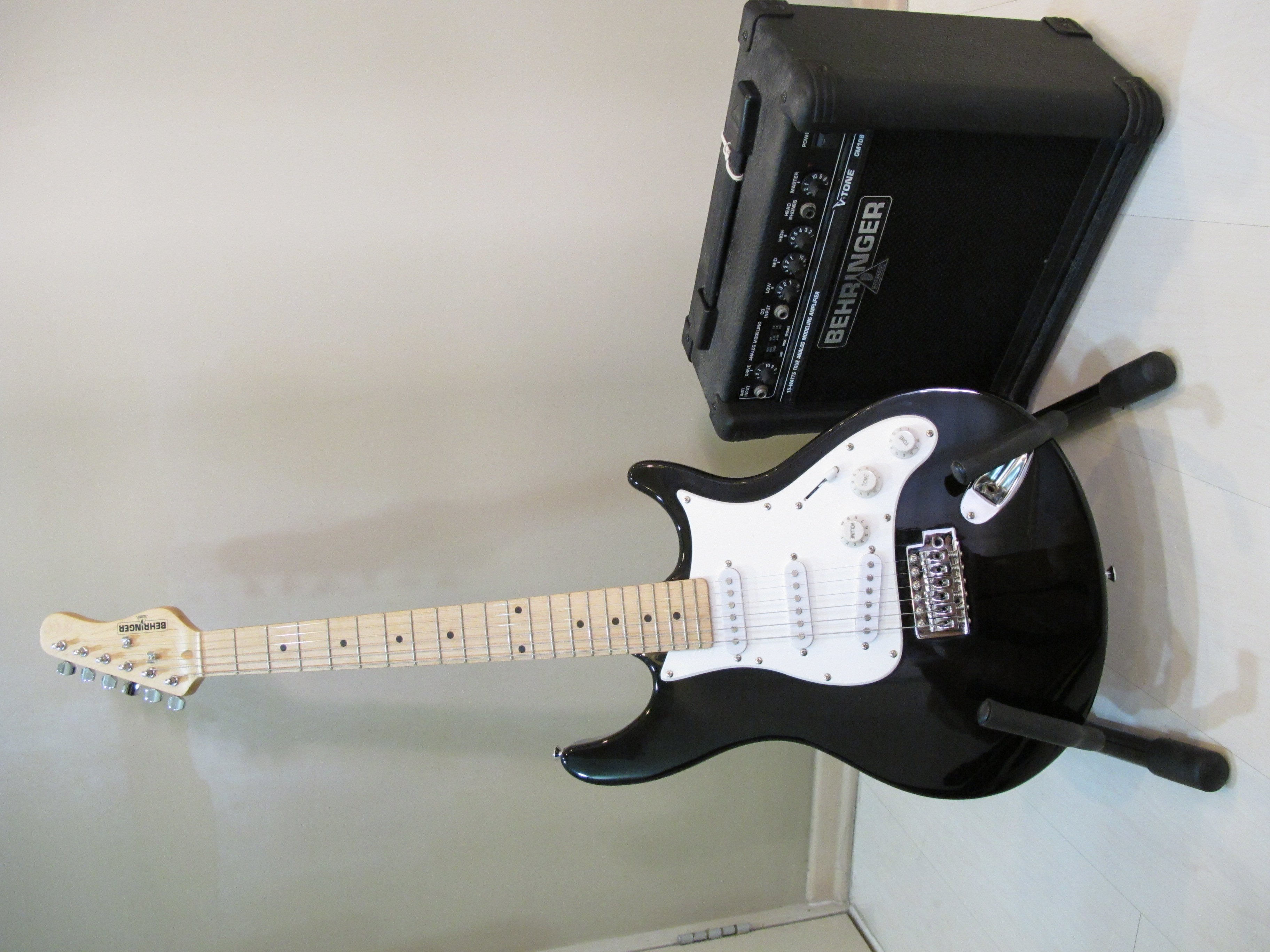 FOR SALE: **SOLD**      BEHRINGER Electric Guitar with Amp