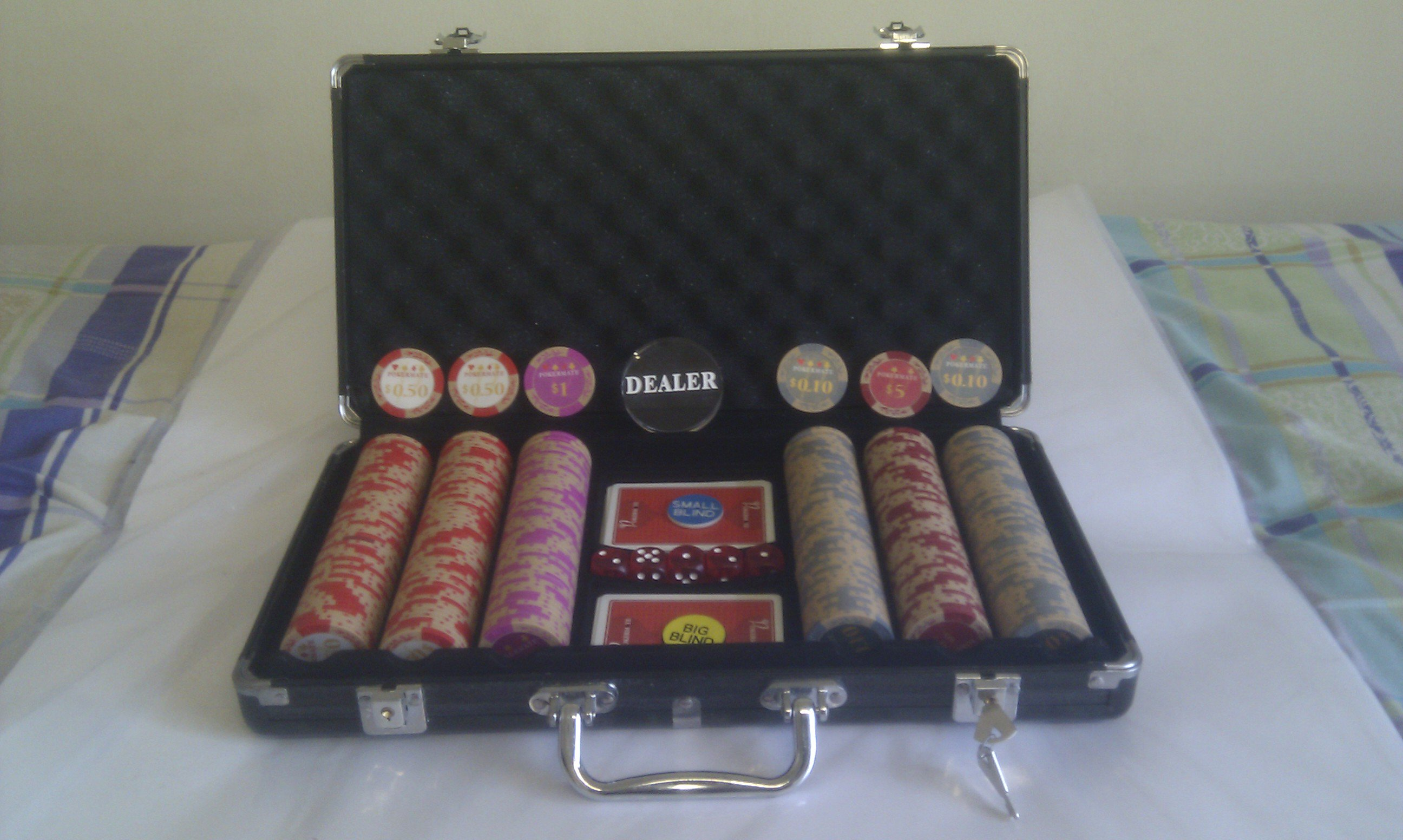 FOR SALE: Poker chips - Pokermate Classic 300 pcs