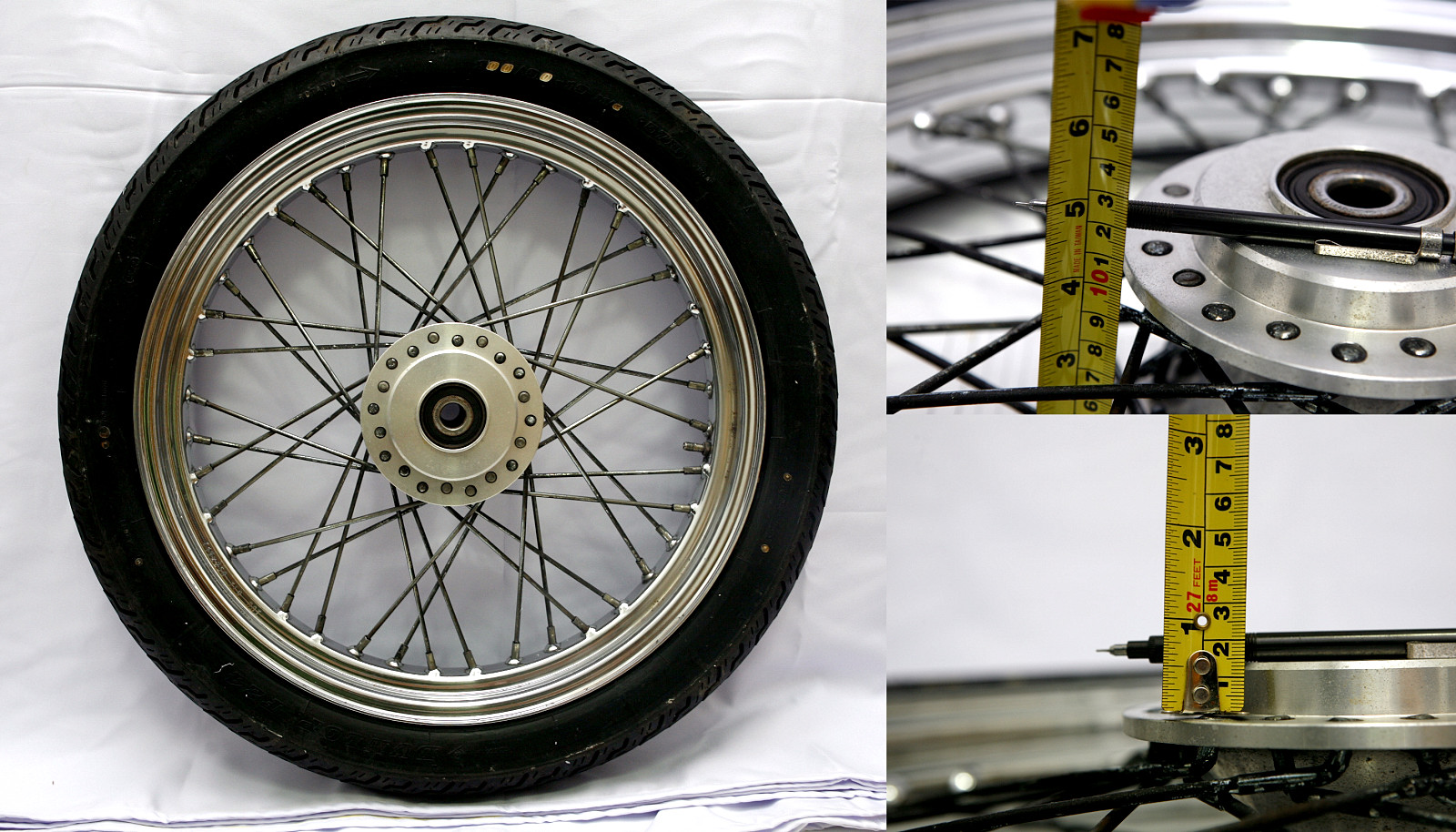 FOR SALE: Harley Davidson Front Wheel