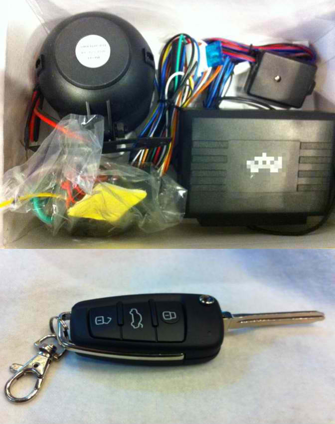 FOR SALE: Hot Deal- Alarm system with x02 remote flip key