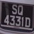 FOR SALE: SQ4331D   ====> 45y/o car plate!  Perfect for Imported Vintage/Classic cars!