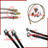FOR SALE: Teflon Stainless Steel Braided Brake Line Kits for Cars