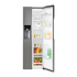 FOR SALE: Top Rated LG GSL360ICEV American Style Frost Free Fridge Freezer
